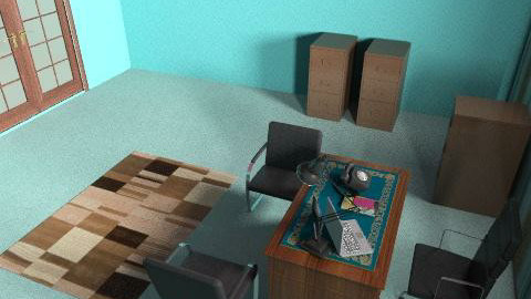 Cool office. - Modern - Office  - by jia khan