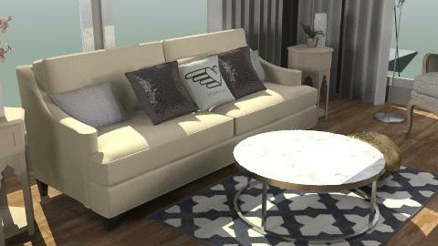 Cris - Glamour - Living room  - by CMenz