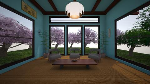 Japanese room - by Cami434t