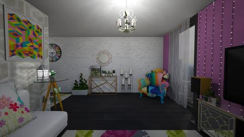 Spring Vibes - Living room - by mmt_regina_nox