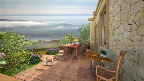 Med villa  - Garden - by pachecosilv