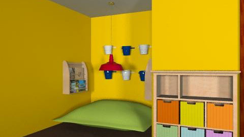 Caleb's (9) project - Eclectic - Kids room - by kansasbloom