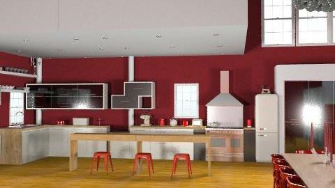 GrownUpKitchen - Modern - Kitchen  - by camilla_saurus