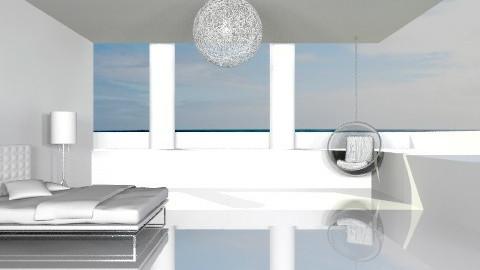 Serene Bedroom - Modern - Bedroom - by Baustin