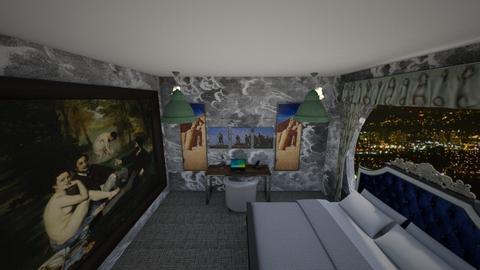 Art Bedroom - Glamour - Bedroom  - by LotusGirly