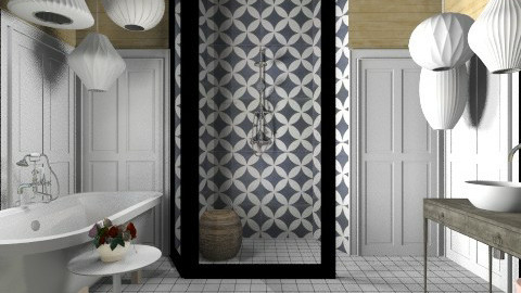 Porto Shutter Bath - Modern - Bathroom  - by 3rdfloor