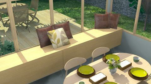 LushDining - Retro - Dining room  - by camilla_saurus