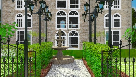Symmetry2 - Classic - Garden  - by Rafa Gudel