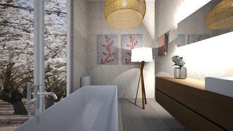 later  - Bathroom  - by LILYBLANCHARD