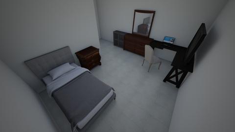 my bedroom  - Minimal - Bedroom  - by aadil23