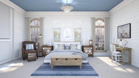 Nautical Bedroom - Classic - Bedroom  - by abby_o