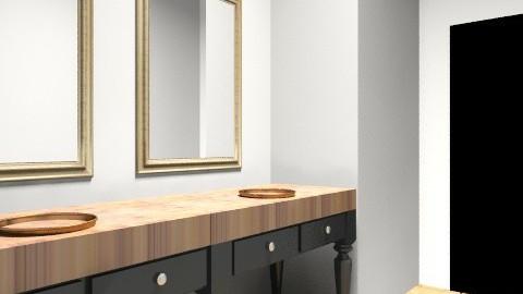 Bathroom 1 - Rustic - Bathroom  - by okaymolly