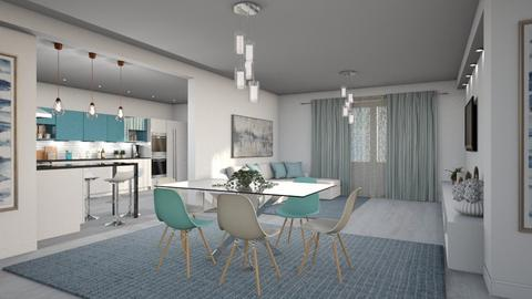 599 - Modern - Dining room  - by Claudia Correia