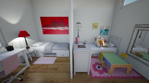 Kids Room - Minimal - Kids room  - by Clapar