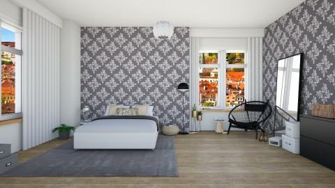 Leaves bedroom - Modern - Bedroom - by martinabb