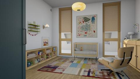 hi baby - Modern - Kids room  - by marinmarin