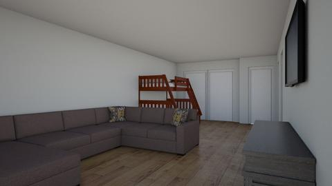 LKA basement - Living room  - by cla10beck