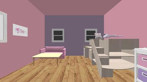 my sisters room - Kids room - by joereliz23