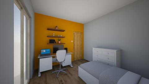 Habitaciomeva12puntouno - Modern - Bedroom  - by Xacreacio