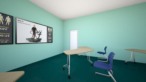 Green Classroom - Office  - by Eris_Caine