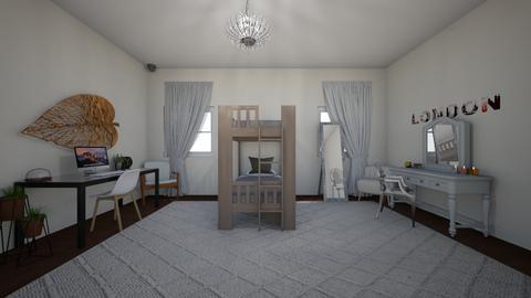 Opposite twins - Bedroom  - by Zaria UwU