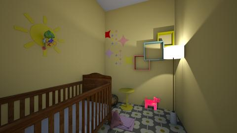 Colorful Baby Room - Kids room  - by TreeFun