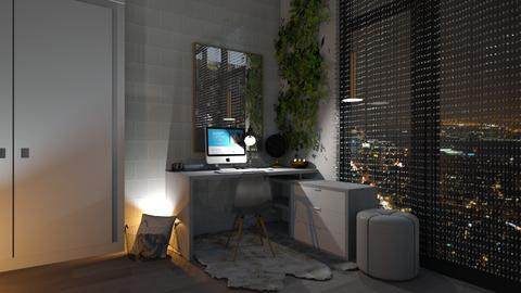Rainy Days - Office  - by helsewhi