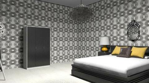 Classical Minimalistic Room - Minimal - Bedroom  - by SydneyJay