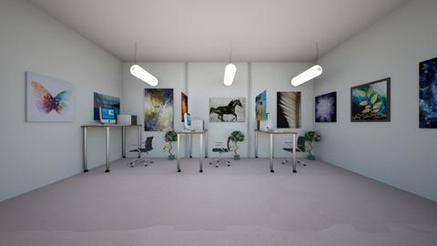 social distancing office - Modern - Office  - by Kayla0101