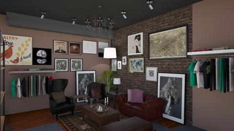 Gallery Cafe - Modern - by Ejad Shukri