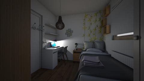 1 room idea - Minimal - Bedroom  - by bangtanboys2013
