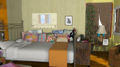 Boho Chic - Eclectic - Bedroom  - by kishwick