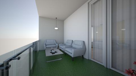 Bedroom balcony  - by saratevdoska