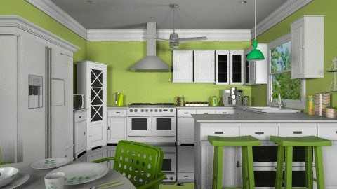 Granny Smith - Classic - Kitchen  - by beauty111