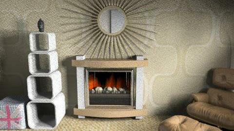 dog - Retro - Living room  - by henripaul