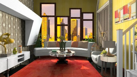 Uptown NY living room - Eclectic - Living room  - by wiljun