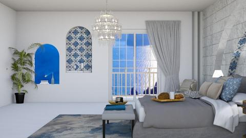 Greek themed room  - by Anya F