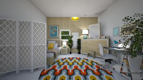 lkolfdee - Eclectic - Bedroom  - by yamz