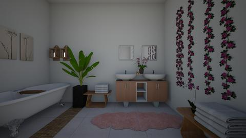 Pink Paradise Spa - Bathroom  - by dreaminjayd