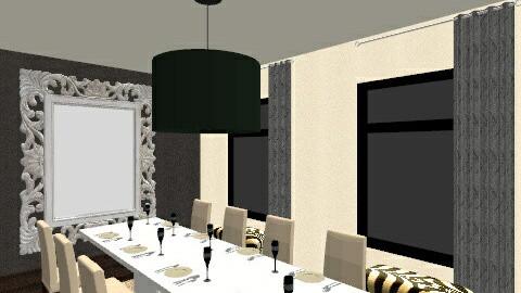 dining room - by ilia_eva