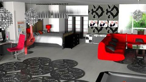 bedroom  - Eclectic - Bedroom  - by lorrainet