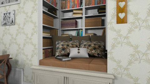 Reading Nook - Country - by Nicky West