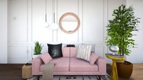Boho modern - Living room  - by Livby