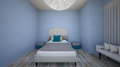 grey bebroom - Bedroom  - by pancakesareawsome