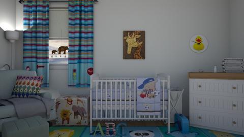 Baby Nursery - Modern - Kids room  - by Irishrose58