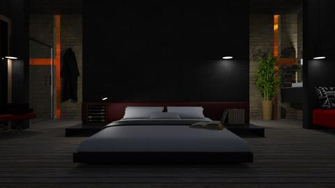Zen - Masculine - Bedroom  - by LuzMa HL