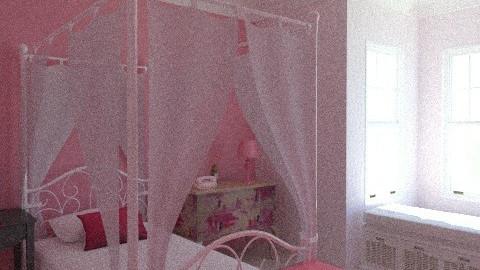 princess bedroom! - Classic - Bedroom  - by MacKey Moo