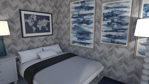 Dreamy Blue - Bedroom  - by clairep10