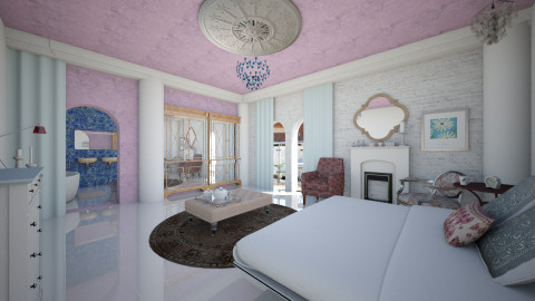 Valentine room - Eclectic - Bedroom  - by mrschicken