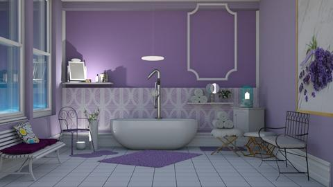 lavanda - Bathroom  - by pachecosilv